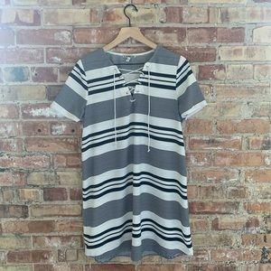 Casual Striped Dress, size M
